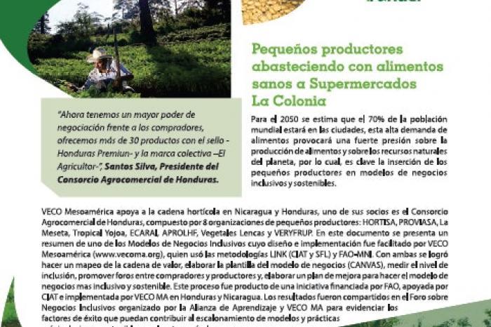 Modelos inclusivos: una recompensa para los agricultores