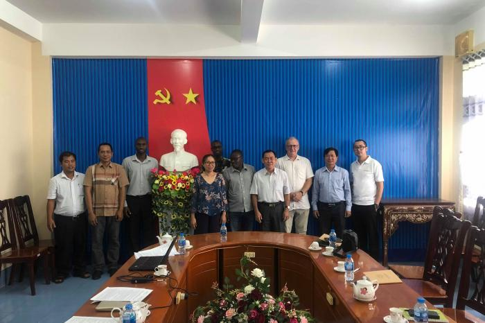 Các cuộc họp và ghé thăm của Chương trình Lúa Gạo Rikolto Quốc tế - năm 2018