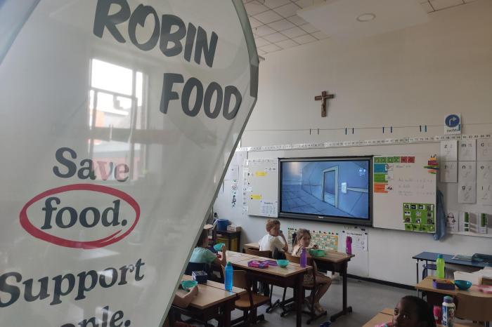 Robin Food schenkt gratis soep van geredde groenten aan Leuvense scholieren