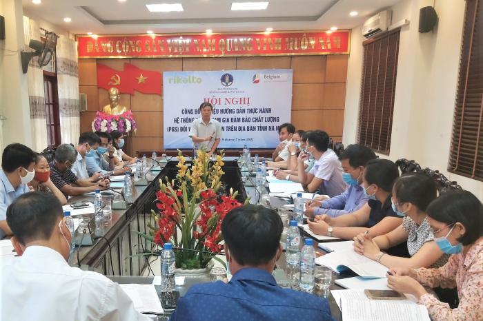 Hà Nam công bố tài liệu hướng dẫn thực hành PGS đối với rau an toàn
