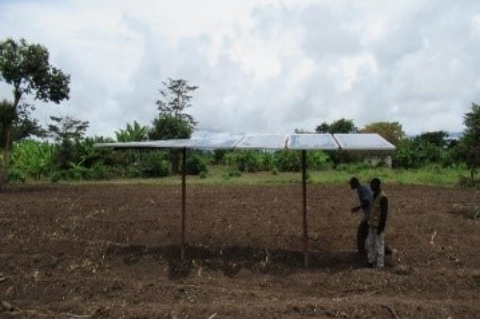 Building resilience with solar-powered irrigation
