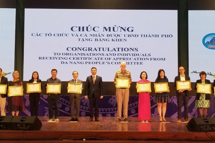 Rikolto among honored NGOs by Da Nang city