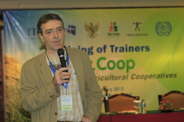 Training of trainers for farmer cooperatives