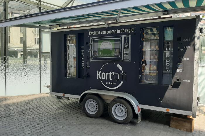 Voedselautomaat geeft Leuvenaars voorproefje van Kort'om