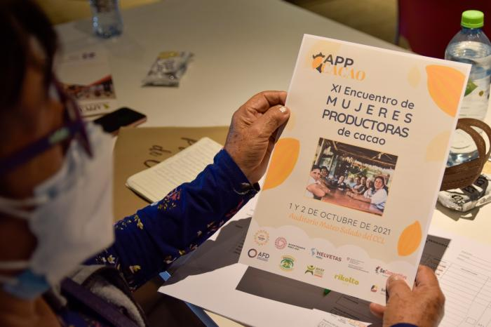 Líderes productoras comparten innovaciones por el Día del Cacao y Chocolate Peruano