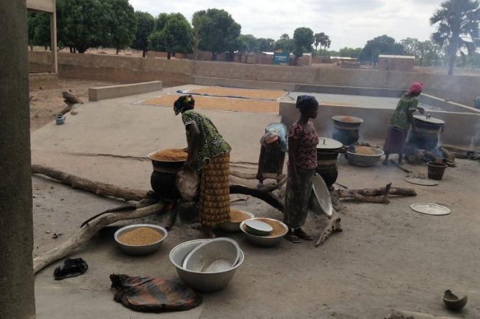 Een innovatief bedrijfsmodel voor 'voorgestoomde' rijst in Burkina Faso