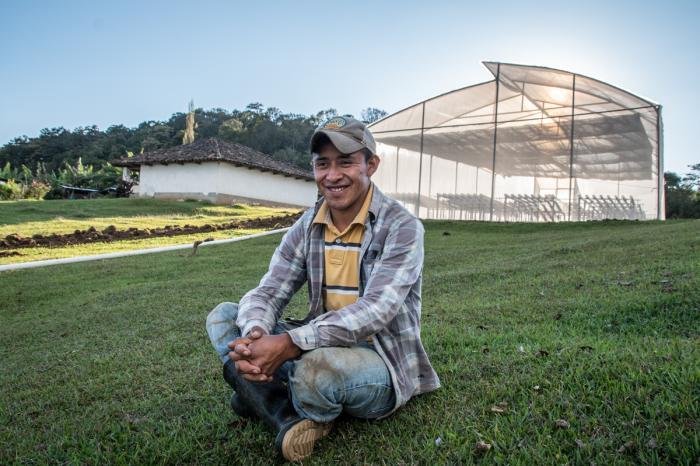 Invernaderos de esperanza en Honduras