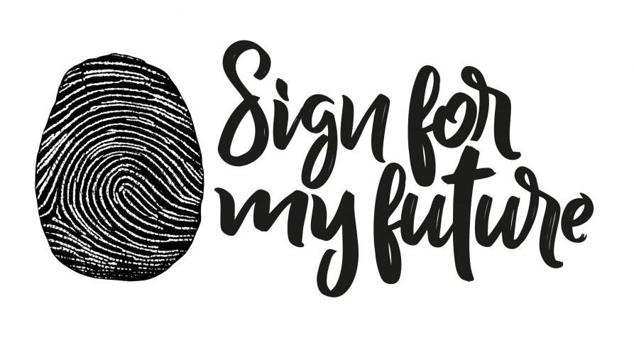 Teken Sign for my Future