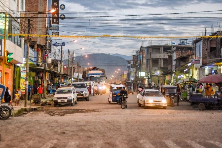 Cac Pangoa Streetview of San Martin de Pangoa