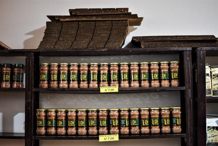 Cac Pangoa frascos cacao en polvo