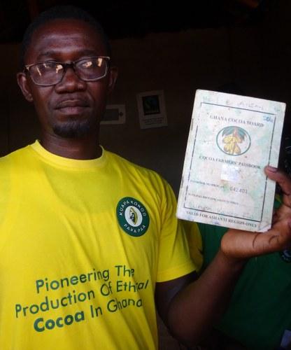 KK cocoa farmers passbook
