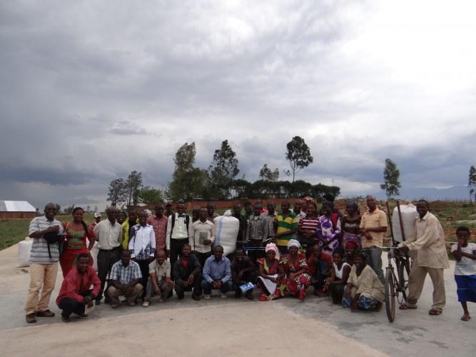 Leden van de rijstcoöperatie ADPA