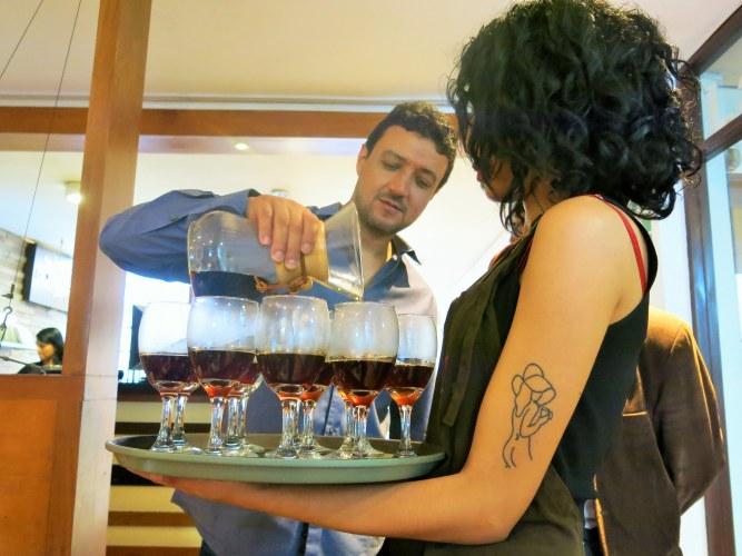 Catando cafés especiales con David Torres Bisetti en Tostaduría Bisetti
