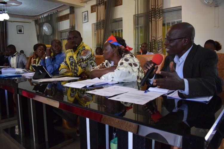 Le directeur de cabinet du président de l'assemblée provinciale de l'Ituri ©Merveille Saliboko