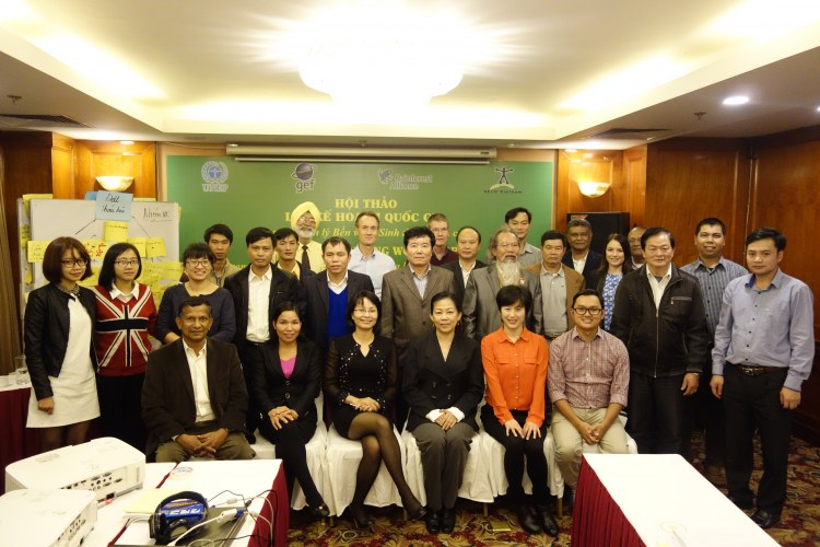 National planning workshop in Hanoi - January 2016