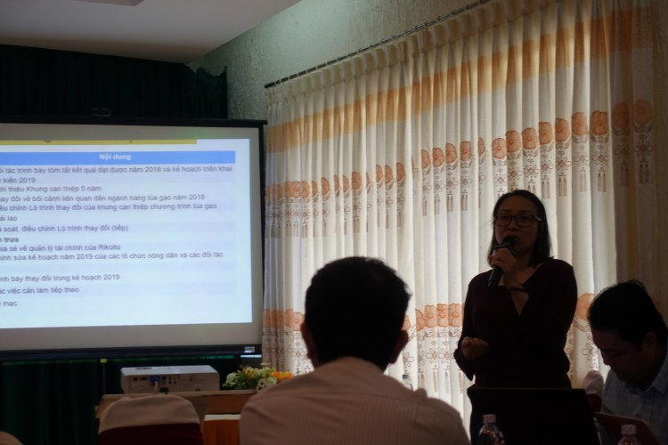 Rice Programme Intervention Framework Review Workshop