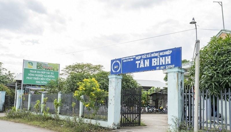 Tan Binh rice cooperative - Dong Thap - Mekong delta