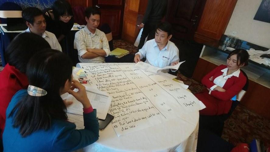 Vegetables Intervention Framework Review Workshop