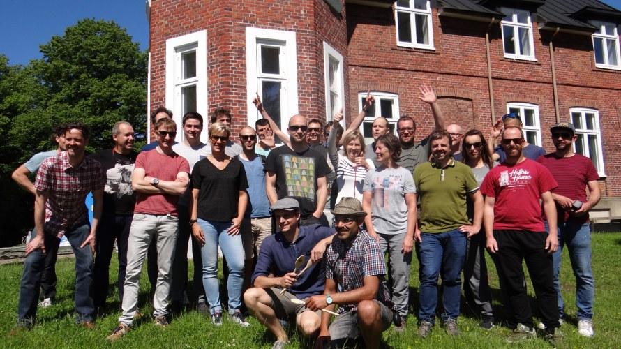 Groepsfoto Mälmo