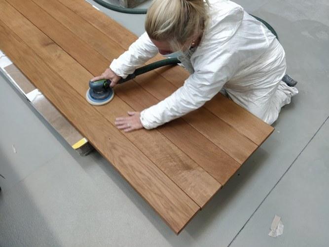 Mooie tuintafels van metaal en hout