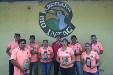 The Intag valley is located in the Northwest of Ecuador and has a tropical to subtropical climate. AACRI is one of the oldest cooperatives in the area.